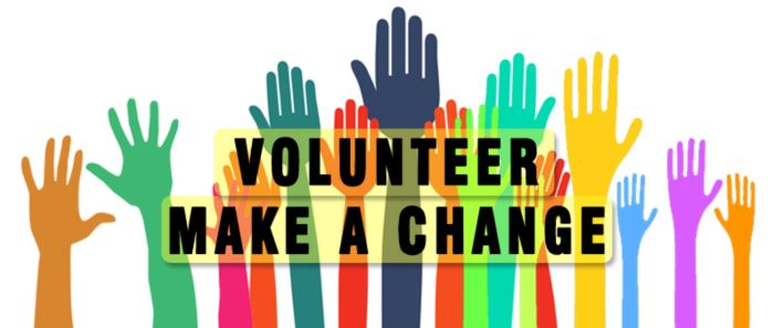 volunteer make a change
